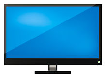 Vector lcd tv Stock Photo
