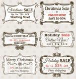 Vector le etichette di vendita Fotografie Stock