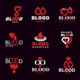 Vector le illustrazioni create sul tema di donazione di sangue, tran del sangue royalty illustrazione gratis