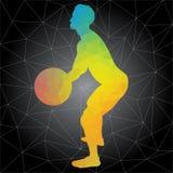 Vector le siluette della gente che fa gli allenamenti del crossfit e di forma fisica royalty illustrazione gratis