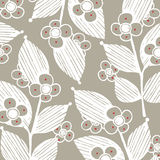 Vector leaf background stock photography