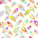 Vector leaf background design Royalty Free Stock Photo