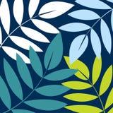 Vector leaf background design Stock Image