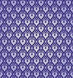 Vector Leaf Damask Background Pattern Stock Photo