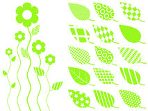 Vector leaf icon Stock Photos