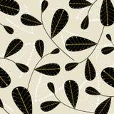 Vector leaf wallpaper vector illustration