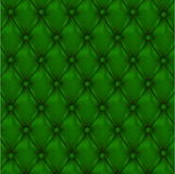 Vector Leather background with buttons. Stock Photos
