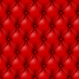 Vector Leather background with buttons. Stock Images