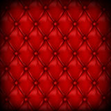 Vector Leather background with buttons. Stock Photo