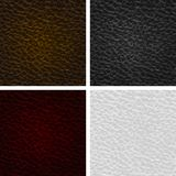 Vector leather seamless texture. Eps10 Royalty Free Stock Image