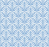 Vector leaves ornament seamless pattern Stock Photo