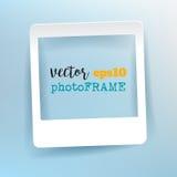 Vector Leeg Fotokader met lege ruimte voor uw beeld Royalty-vrije Stock Afbeelding