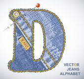 vector Letter D Royalty Free Stock Photos