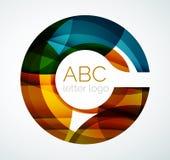 Vector letter logo stock illustration