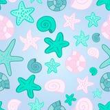 Vector mermaid scale seamless pattern vector illustration