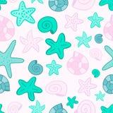 Vector mermaid scale seamless pattern stock illustration