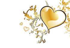 Vector liefdehaard   Royalty-vrije Stock Afbeeldingen
