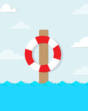 Vector lifebuoy Stock Images