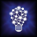 Vector ligero de la idea Foto de archivo libre de regalías