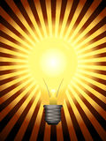 Vector Light Bulb Royalty Free Stock Photography