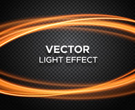 Vector light effect on checkered background Royalty Free Stock Photo