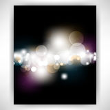Vector light flares concept background Stock Photo