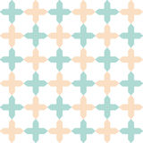 Vector light flat geometrical seamless pattern Stock Images