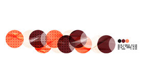 Vector light geometric compositions Stock Photo