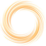 Vector light orange background of swirling texture Royalty Free Stock Photography