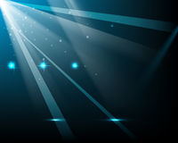Vector light rays background Royalty Free Stock Images
