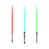 Vector light saber set Stock Photo