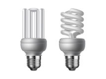Vector lightbulbs Royalty Free Stock Photo