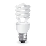 Vector lightbulbs icon Stock Photography