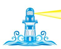 Vector lighthouse Stock Photos