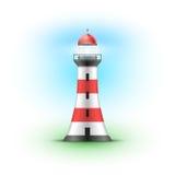 Vector Lighthouse Illustration. royalty free illustration