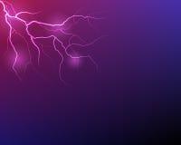 Vector lightning flash strike Stock Photography