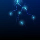 Vector lightning flash strike Royalty Free Stock Images