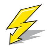 Vector lightning sign Stock Photo
