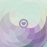 Vector lilac spiral background Royalty Free Stock Image