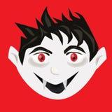 Vector lindo de la cabeza del vampiro libre illustration