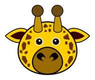 Vector lindo de la jirafa Fotografía de archivo libre de regalías
