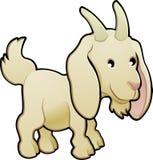 Vector lindo del animal del campo de la cabra   Imagen de archivo libre de regalías