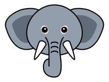 Vector lindo del elefante Fotografía de archivo