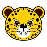 Vector lindo del guepardo Fotografía de archivo libre de regalías