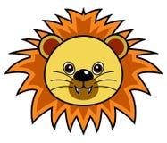 Vector lindo del león Foto de archivo libre de regalías
