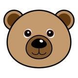 Vector lindo del oso Imagenes de archivo