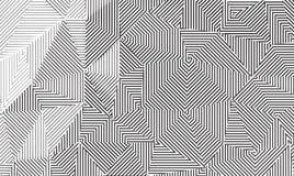 Vector Line Art Background Stock Image