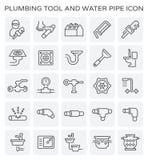 Plumbing tool icon Royalty Free Stock Photography