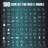 Vector of Line Icons set. Royalty Free Stock Images