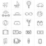Vector line travel icon design Royalty Free Stock Photo